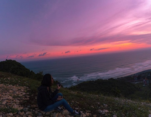 Panorama Bukit Paralayang Bantul Tempat Foto Keren & Hits di Jogja 3
